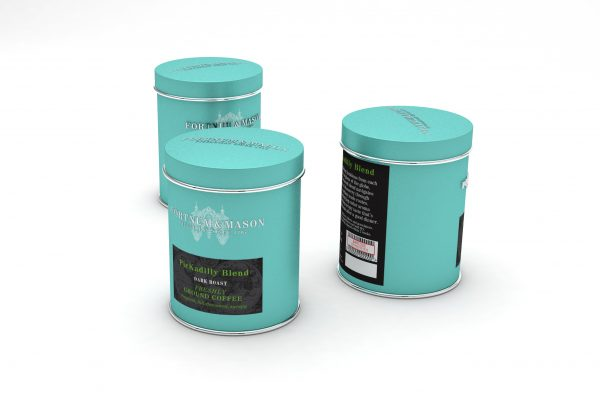 Fortnum & Mason coffee packaging 3d model